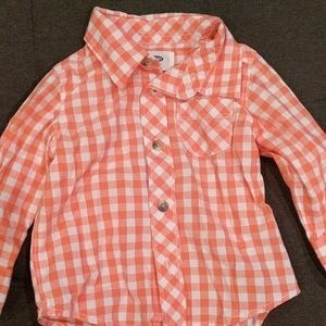 Boys buttondown